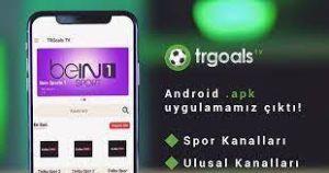 TRGoals TV APK indir / Canlı Spor Kanalları 2021 1