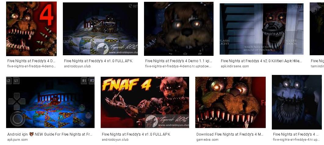 Android Apk İndir - Apk Uygulama İndir Five Nights at Freddys 4 Hileli Apk Güncel 2021**